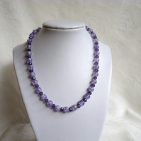 Shades of Purple Necklace
