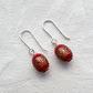 Red Barrel Earrings