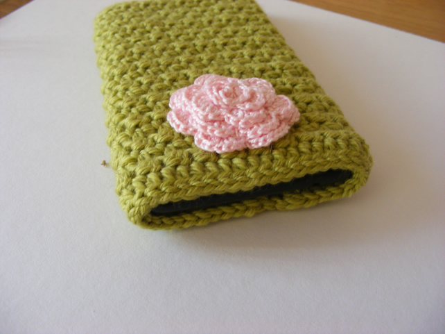 Crochet phone cover for Nokia lumia