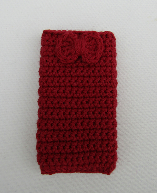 Crochet Mobile Phone Case Folksy