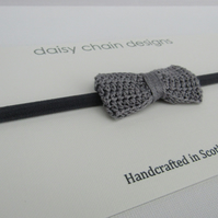 SALE Crochet bow headband, back to school, party bags