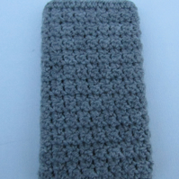 Crochet phone cover