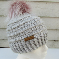Crochet ladies hat