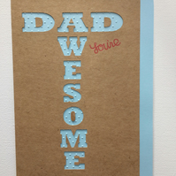 Fathers Day Card Birthday Card