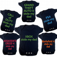 GRAND THEFT AUTO V STOLE MY DAD BODYSUIT FREE UK POSTAGE