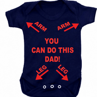 BODYSUIT YOU CAN DO THIS DAD