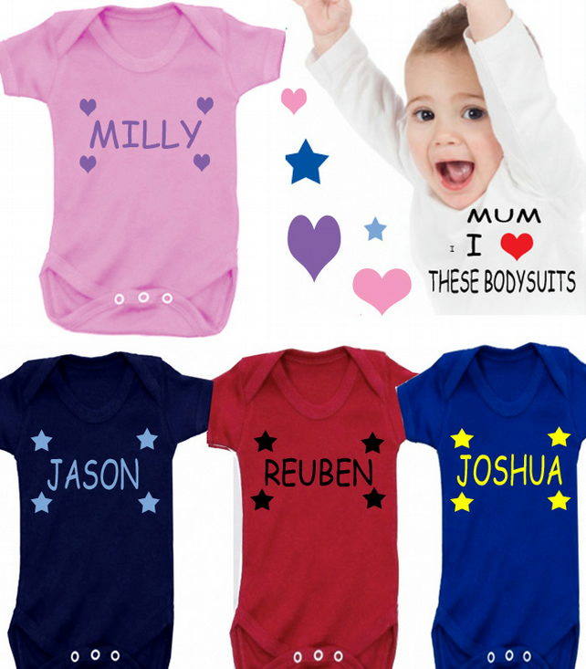 BODYSUIT PERSONALISED
