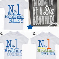 T-shirt  Big brother EXCLUSIVE RANGE   MESSAGE ME the name if needed