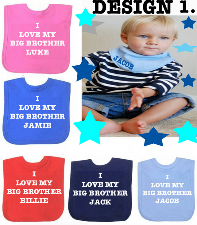 BIB  BIG  BROTHER DESIGN 1
