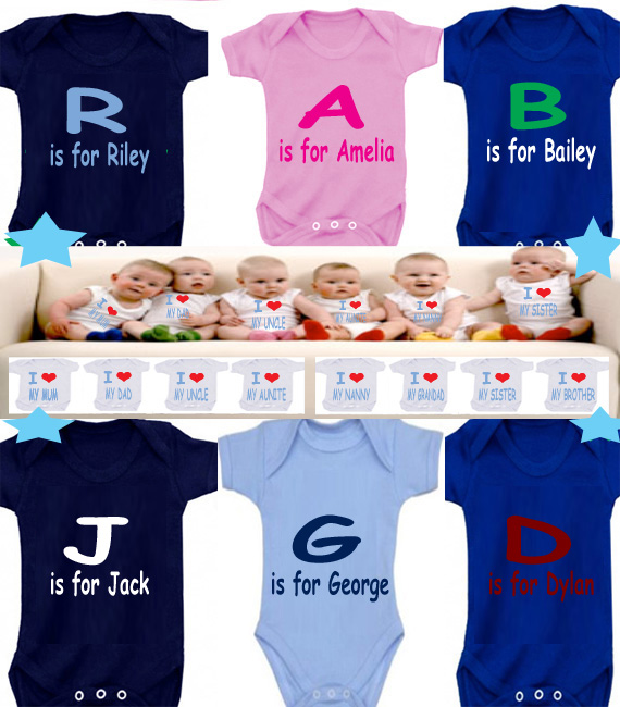 BODYSUIT ANY NAME FOR YOUR BABY