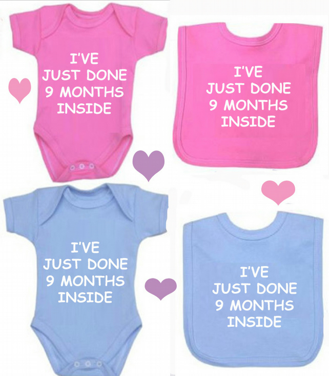 BODYSUIT 9MTHS INSIDE SET FOR YOUR BABY