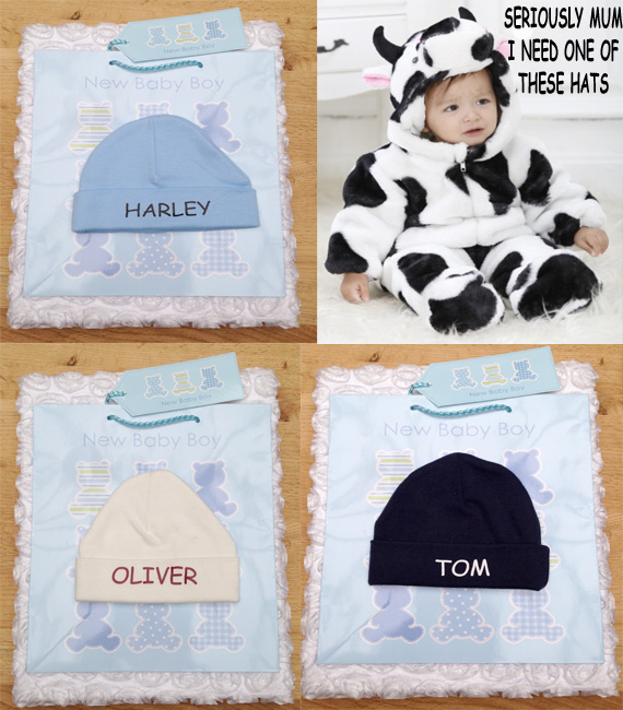 PERSONALISED HAT FOR YOUR BABY