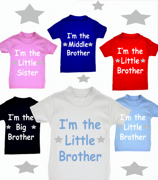 MIDDLE  BROTHER  OR SISTER ETC ANY FAMILY MEMBER T-SHIRT