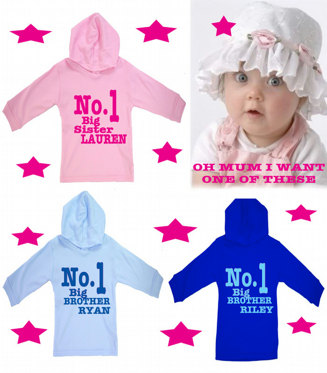 I'M GOING TO BE A BIG BROTHER   OR SISTER HOODY