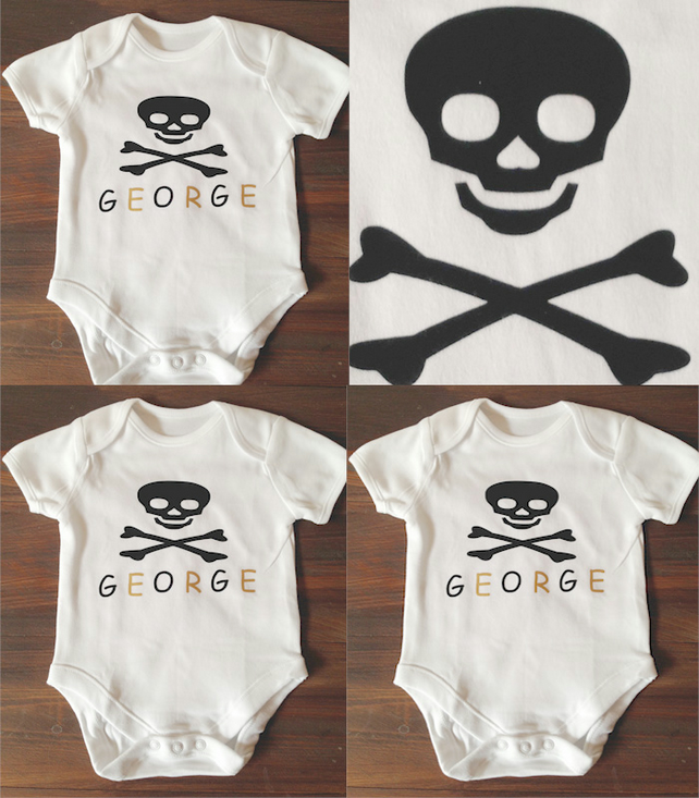 BODYSUIT pirate any name any colour