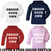 Hoodie any slogan  MESSAGE ME the name if needed