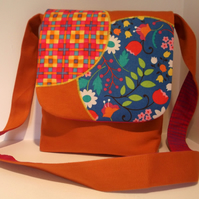 Messenger Bag - Happy Orange