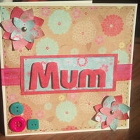 A card for Mum...