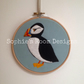 "Hoop Art 6"" - Puffin"
