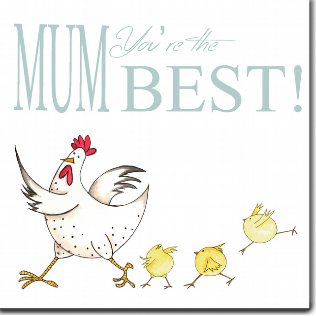 Mother's Day Card: Mum, You're The Best!