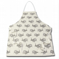 Horace Hare Apron - 100% Cotton - Made in England
