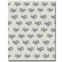 Horace Hare Tea Towel, 100% Cotton, Made in the UK, Animal Homeware