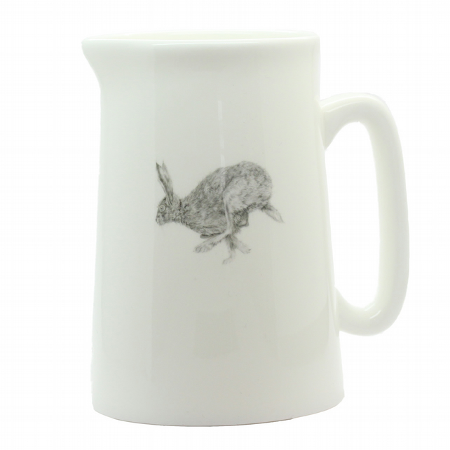 Horace Hare Jug - Fine Bone China