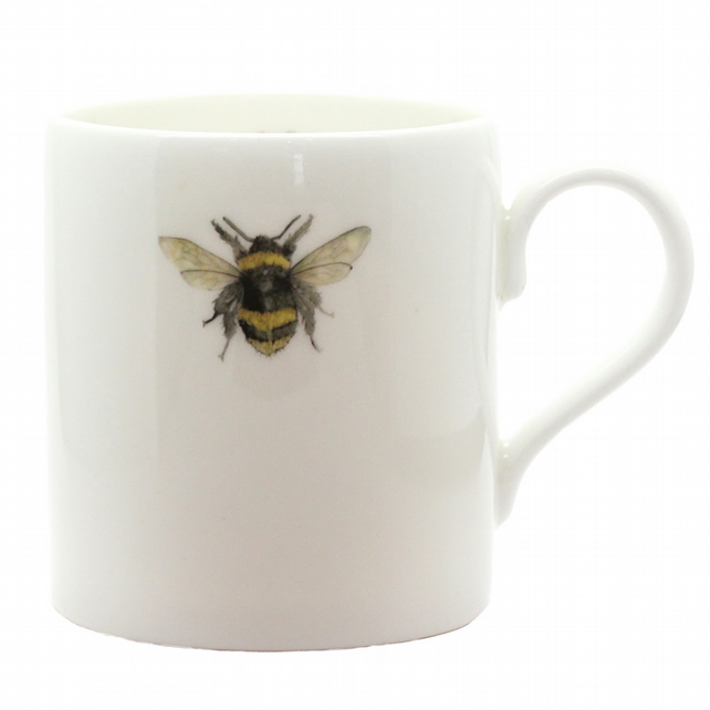 Little Bee Mug - Fine Bone China - Made in England
