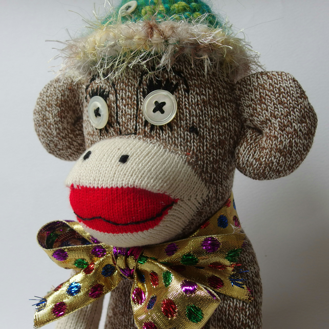 Sock Monkey - made from 'Original Rockford Red Heel Socks'