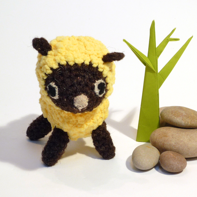 Amigurumi Lemon : Amigurumi Crochet Sheep, Lamb - Lemon Bobble Ya... - Folksy