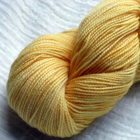 'Polenta' - Superwash BFL/Nylon High Twist Sock Yarn 100g