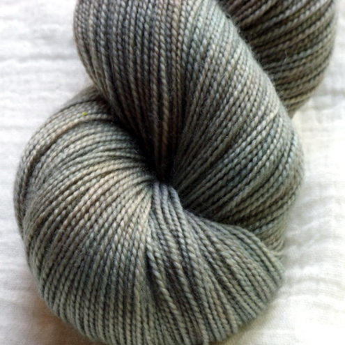 'Undergrowth' - Superwash BFL/Nylon High Twist Sock Yarn 100g