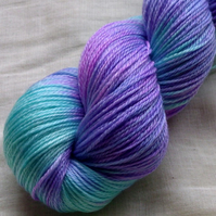 'Magick' - British Falkland Merino/Tencel Sock Yarn 100g