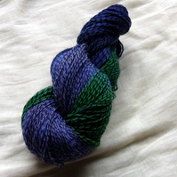SALE 'Muscari' - Merino Tweed Sock Yarn 100g