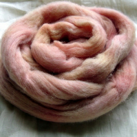'English Rose' - English 56s Spinning Fibre 100g