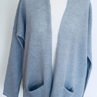 Soft Merino Lambswool Cardigan with Pockets