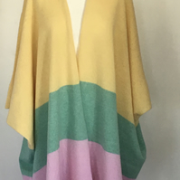 Soft Merino Lambswool Oversized Cardigan