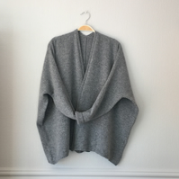 Edge to Edge Boxy Cardigan (no buttons) Made to Order