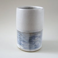 Vase – Seascape, Waves on Water, Stoneware One-Off Vase, Hand Thrown Pottery