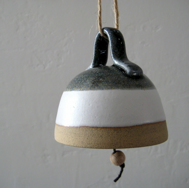 Ceramic Bell, Hand Bell, Hanging Wind Chime,