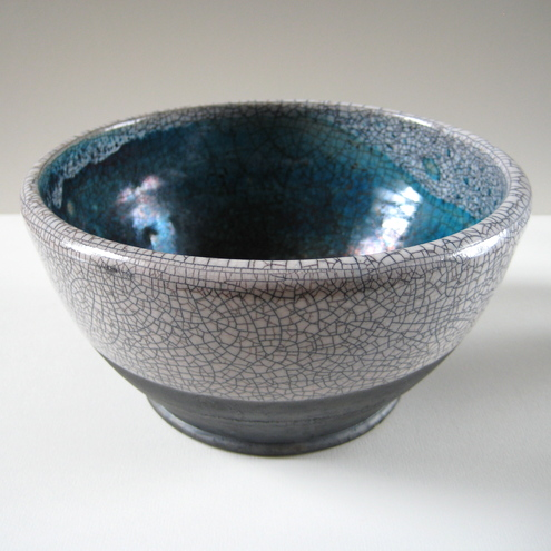 Ceramic Raku Bowl (large)