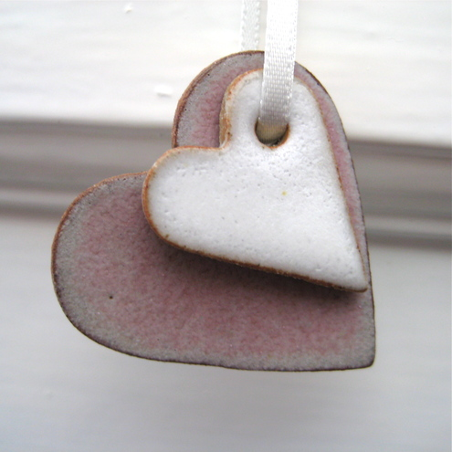 Ceramic Heart Decoration
