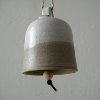 Ceramic Bell, Hand Bell, Hanging Chime.