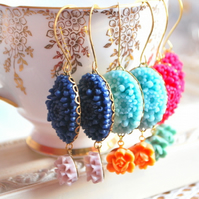 Gorgeous Cabochon Earrings