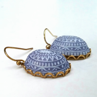 Vintage Light Blue Earrings.....
