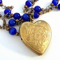 Heart Locket Necklace.....