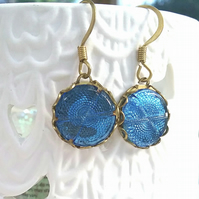 Reflective 30s Glass Earrings.....