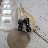 Hematite earrings, Hematite Jewellery,
