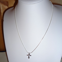 Exquisite Small Cross Pendant