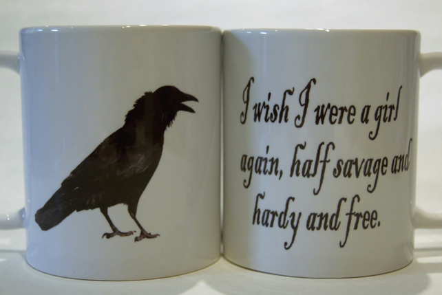 Wuthering  Heights Mug - Emily Bronte by Tattoo Mug Lady